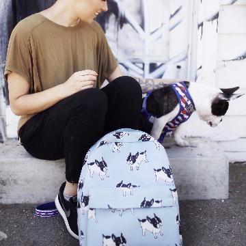 Frenchie Backpack, French Bulldog
