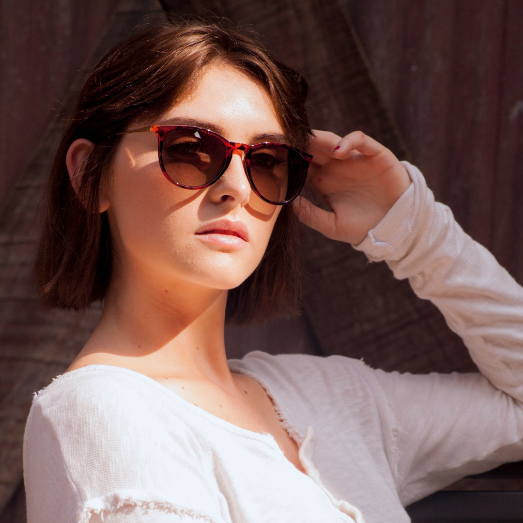 Eye Love Polarized Fleek Brown Sunglasses