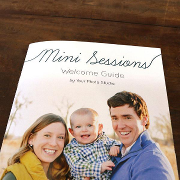 Family Mini Session Welcome Guide