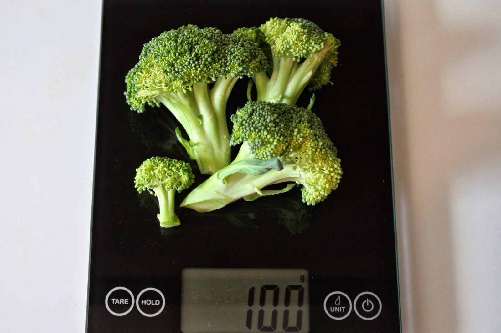100g Of Brocolli
