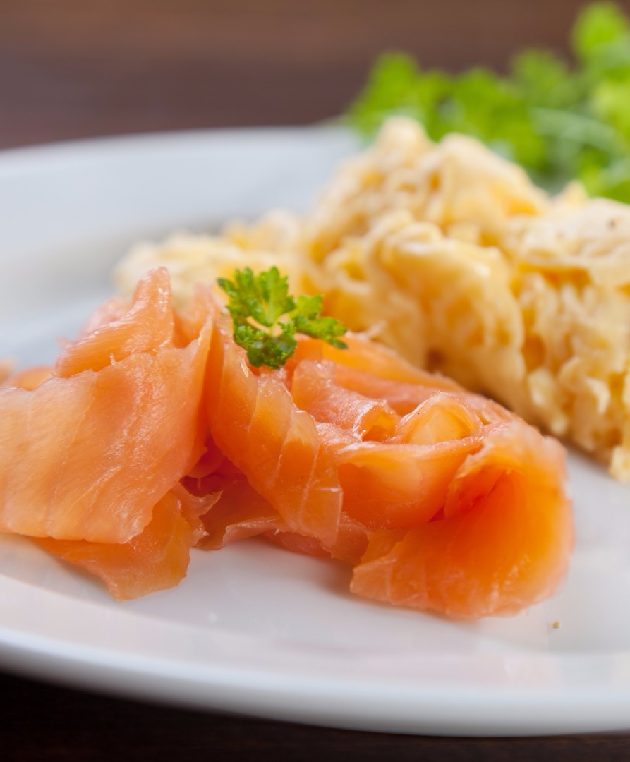 Scrambled Eggs Salmon