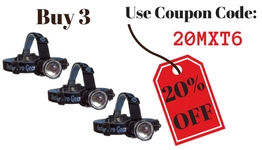 Save 20% when you buy 3!