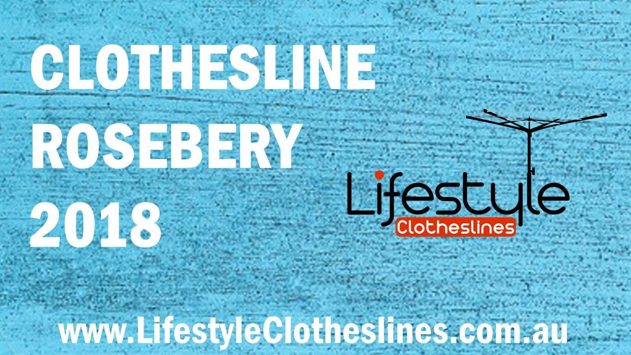 Clotheslines Rosebery 2018 NSW