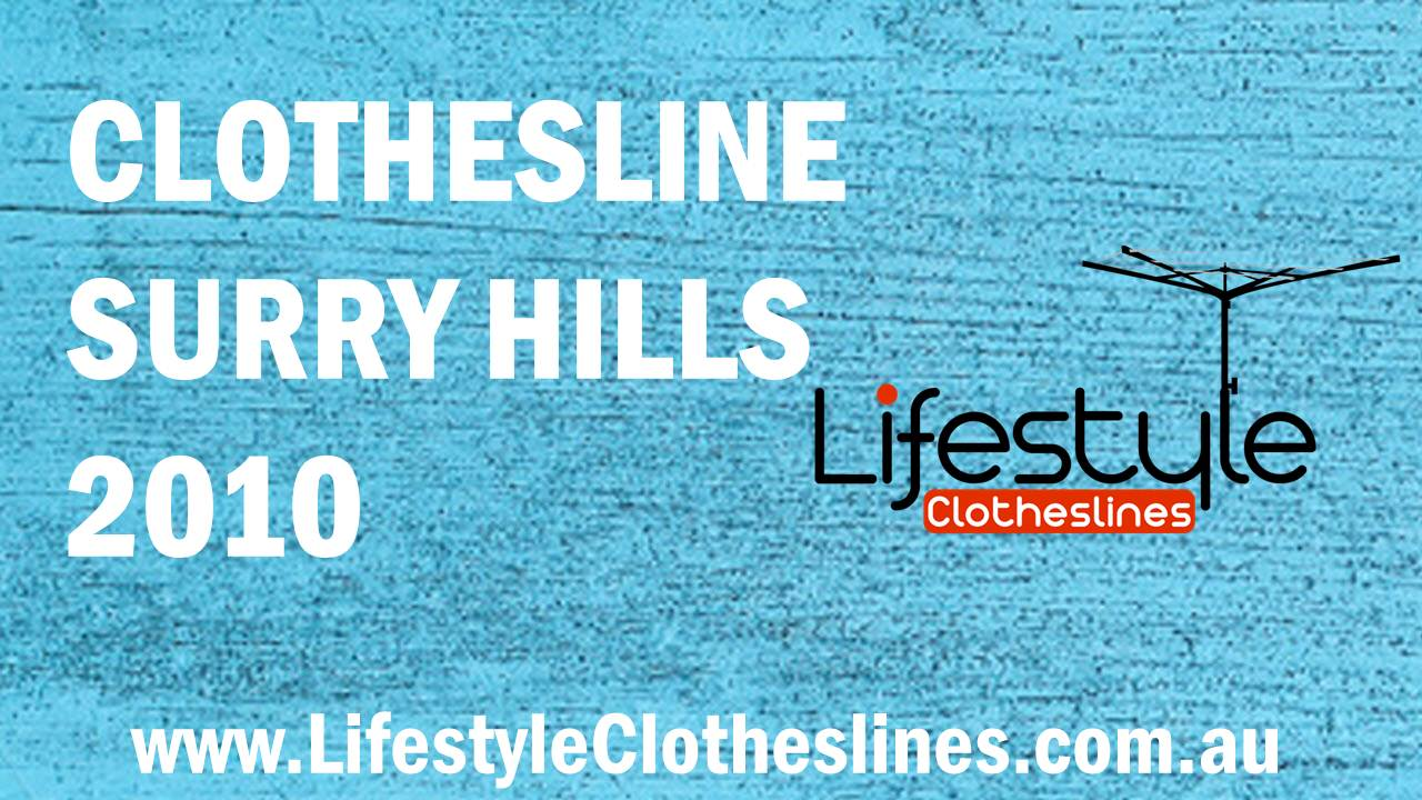 Clotheslines Surry Hills 2010 NSW