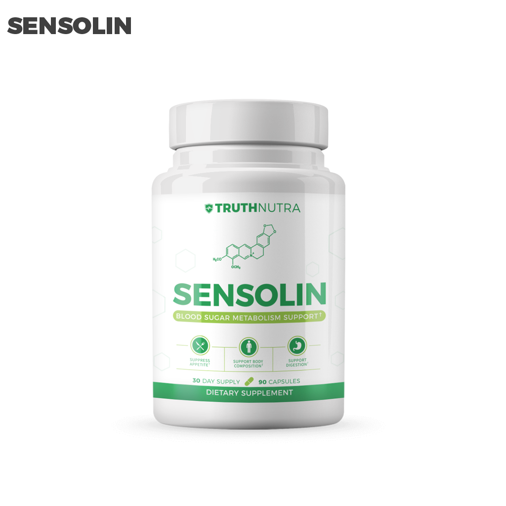 SENSOLIN - All Natural Blood Sugar Lowering Supplement