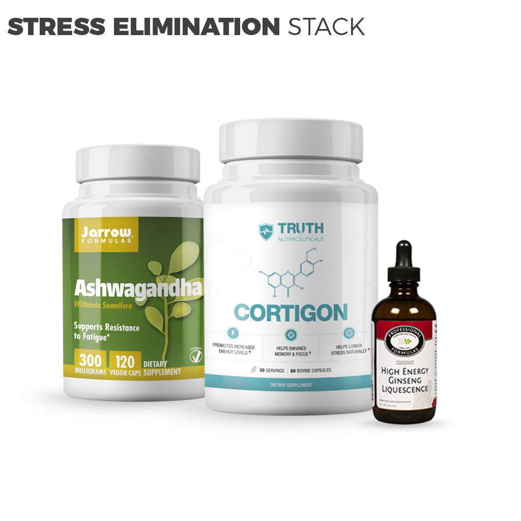 Stress Elimination Stack: Lower Cortisol and Improve Health