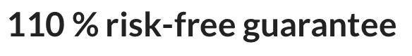 Ambronite risk-free guarantee