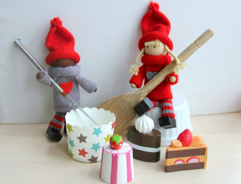 Baking with the Kindness Elves