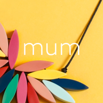 Best Selling Gifts for Mum | Colourful Necklace on Yellow Background