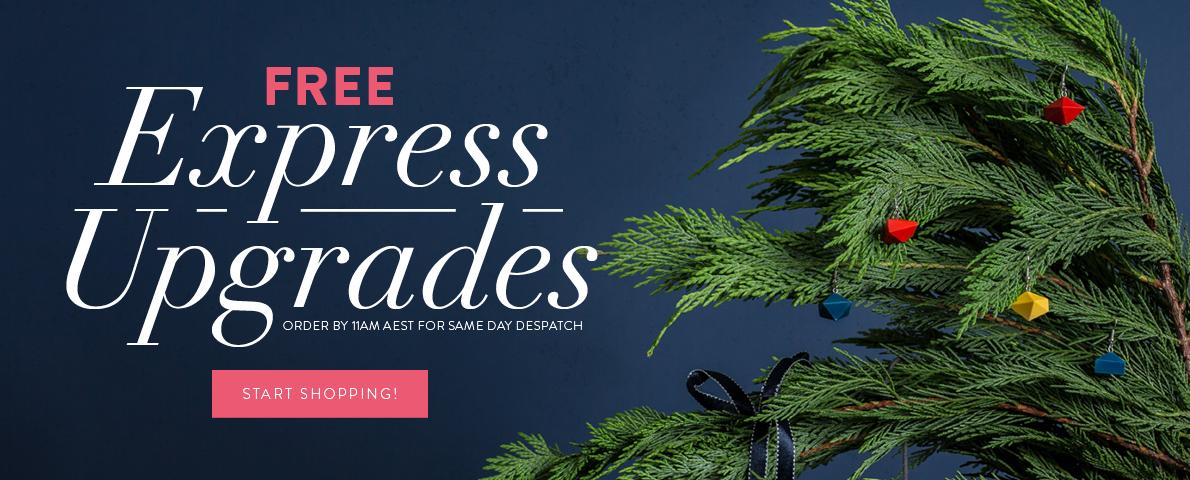 Free Express Upgrades