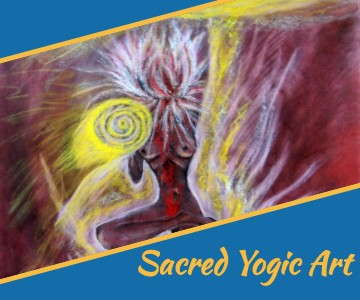 sacred yoga art by nandhiji
