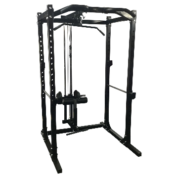 Rack with Lat Attachment