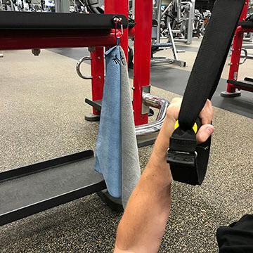 Monster Magnetics SportMag Magnetic Microfiber Gym Towels Set