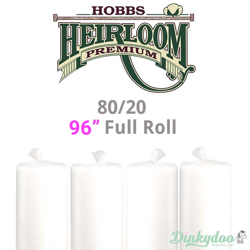 hobbs heirloom 80/20 full roll batting