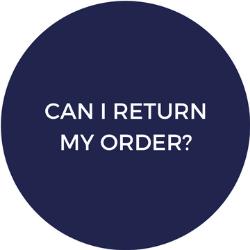 Can I return my order?