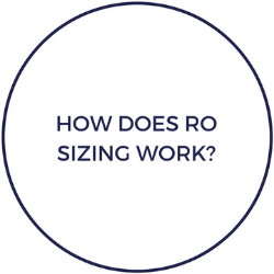 How does RO sizing work?