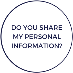 Do you share my personal information?