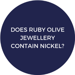 Does Ruby Olive Jewellery contain nickel?