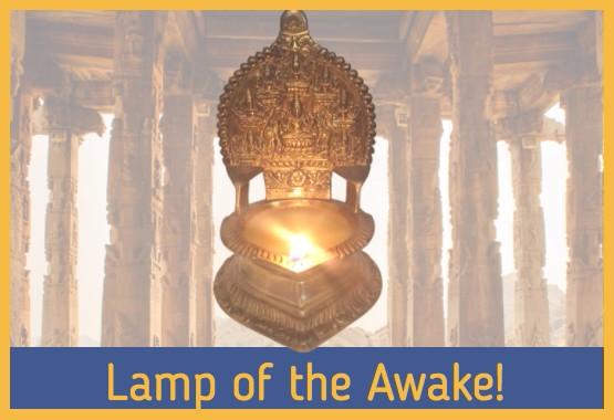 deepa lakshmi lamp