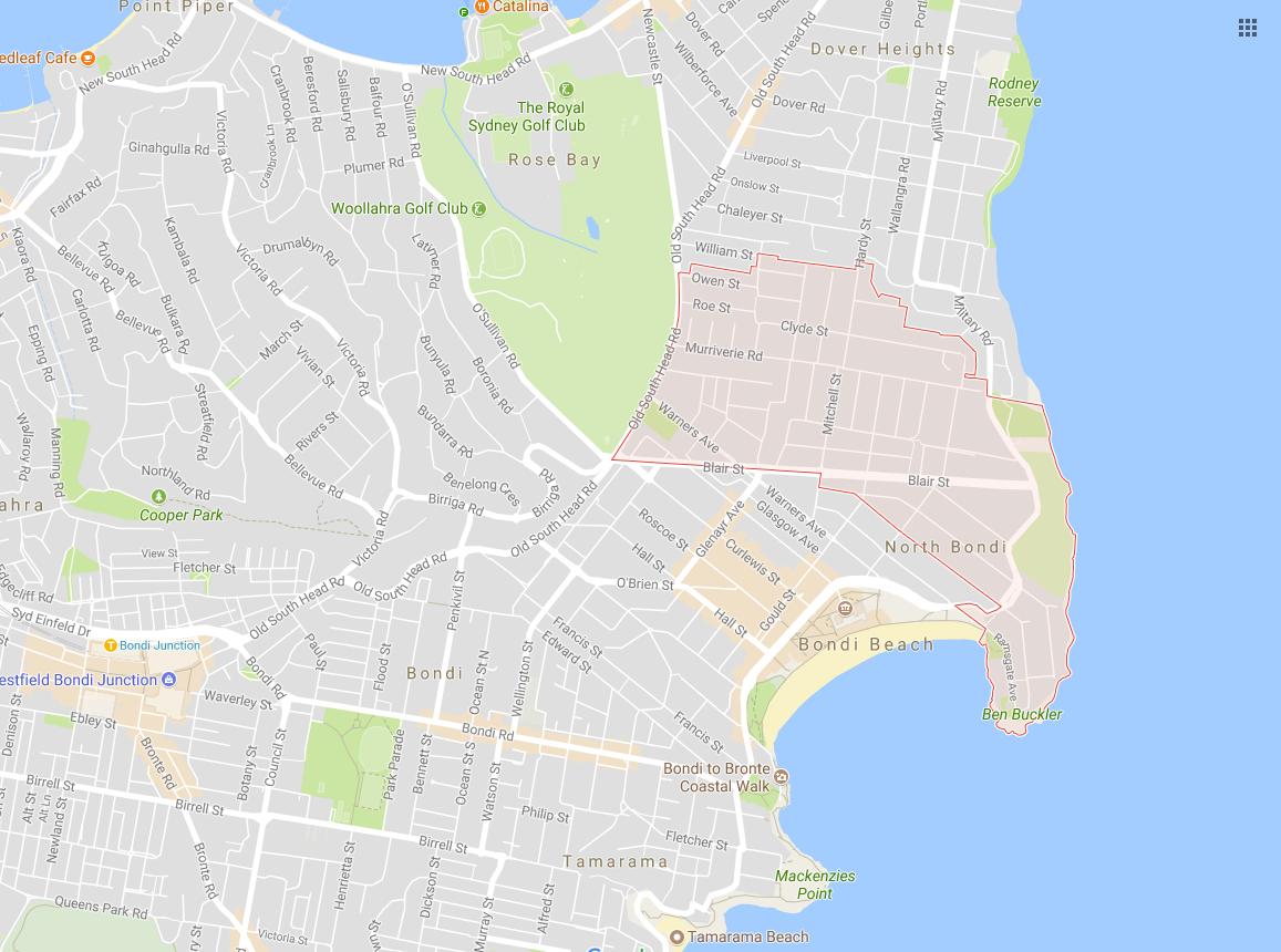 Clothesline North Bondi 2026 NSW