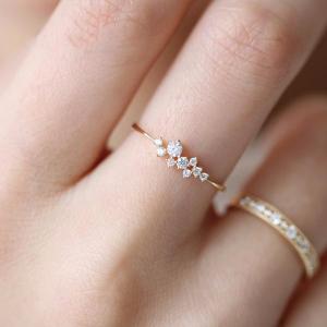 Sasha Sparkle 14K Gold Vermeil Ring