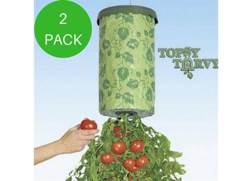 topsy turvy tomato tree planter