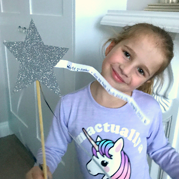Twirling the Kindness Wand