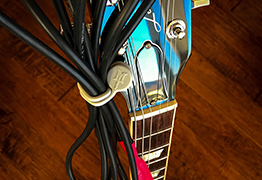 TwistieMag Magnetic guitar and instrument cable organization wraps