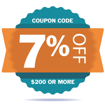 7 Percent Off Coupon Code