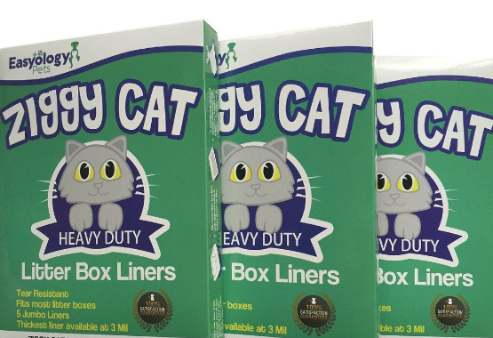 Ziggy Cat Litter Box Liners