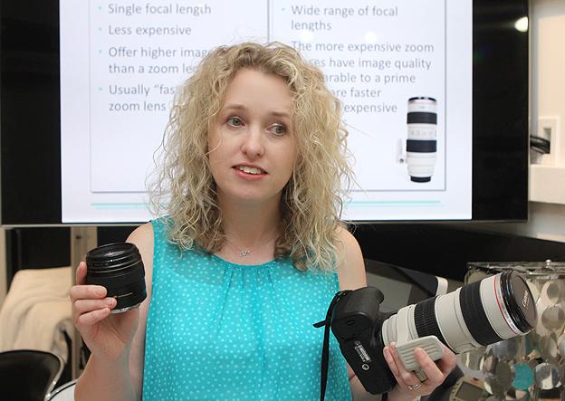Teach a basic digital photography class