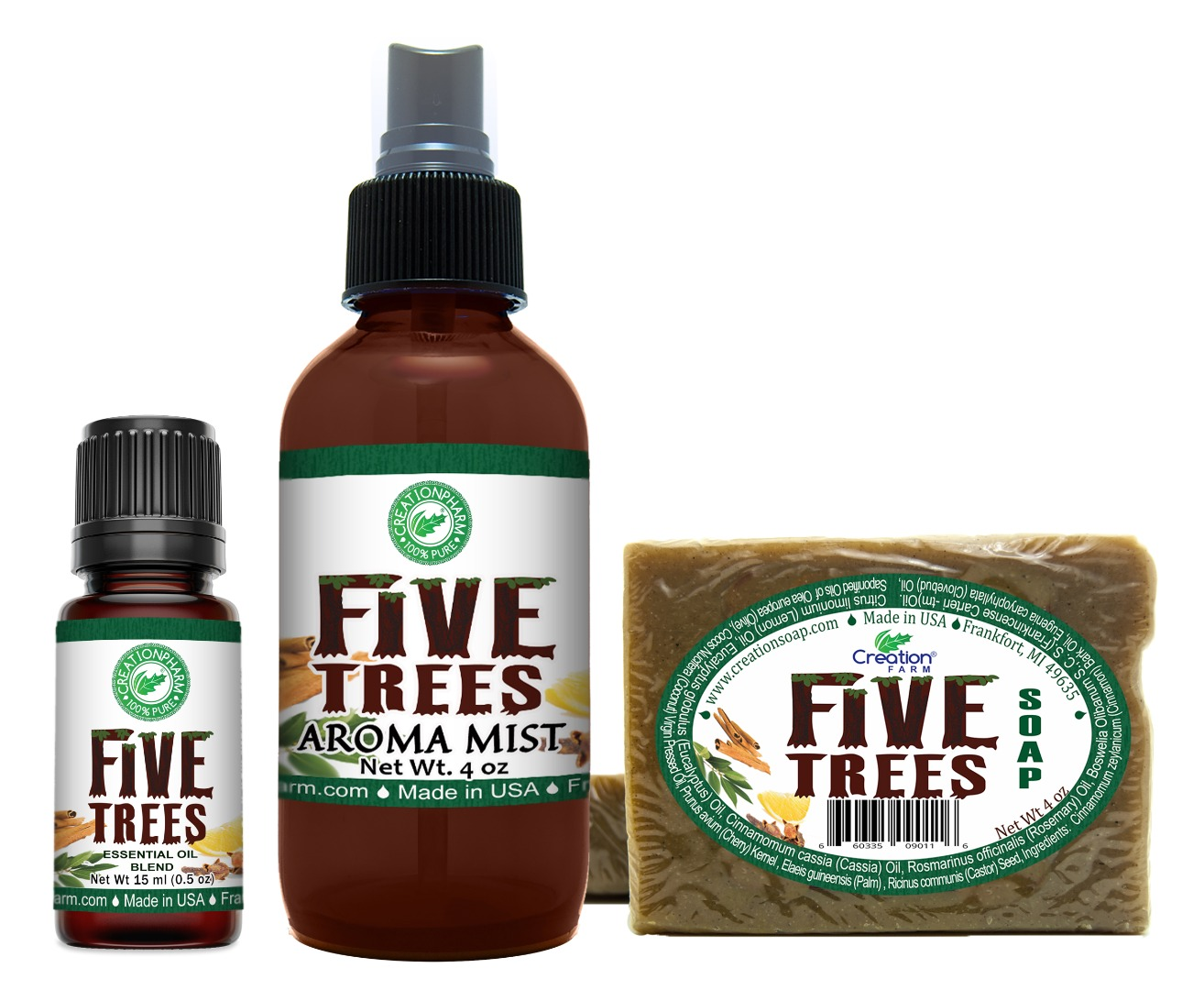 Five Trees Aromatic Collection Set