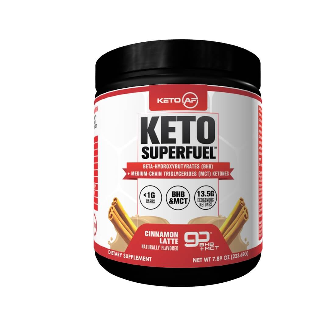 Keto Superfuel label front