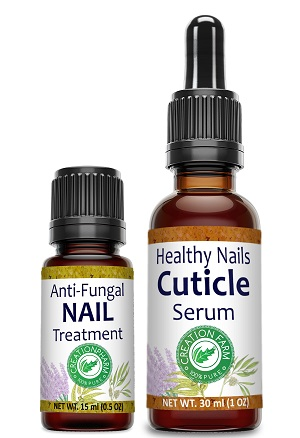 Nail Treatment Set For Cuticles With Dropper / Anti-Fungal Nail Treatment Blend
