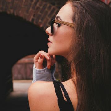 Eye Love Ebony Wood Sunglasses