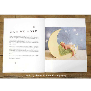 Newborn Photographer Welcome Guide - How we work
