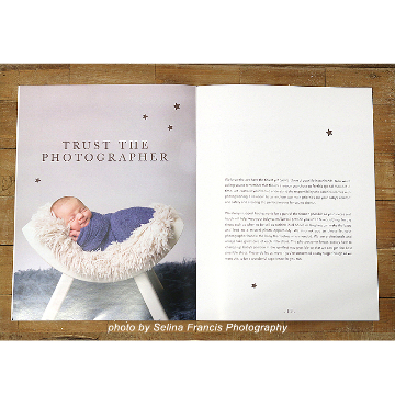 Newborn Photographer Welcome Guide Template
