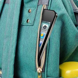 Mobile Phone Diaper Bag Pocket