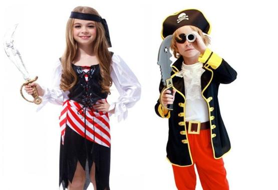Fantasia de Piratas Infantil