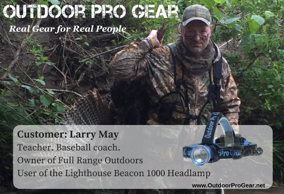 Larry May of Full Range Outdoors