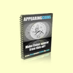 appearing coins magic trick