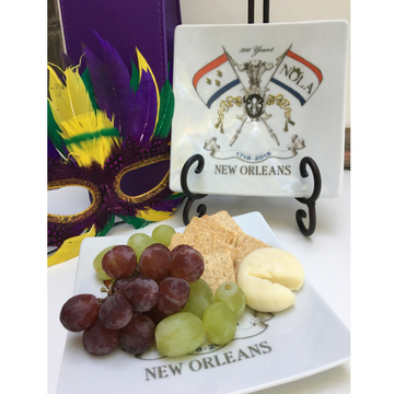 Small Plate NOLA2018 with Fruit