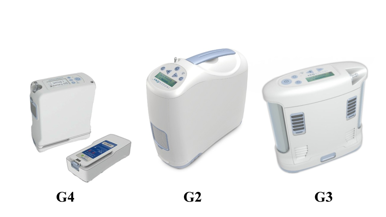 Inogen One Portable Oxygen Concentrator Machines