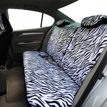 BACK SEATS - ZEBRA CAR SEAT COVERS SET