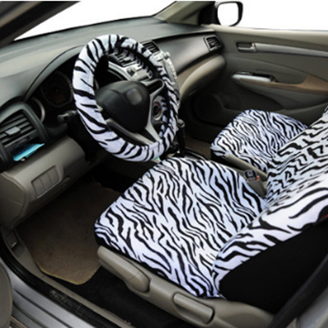 Front Seats - Zebra Car Seat Covers Set