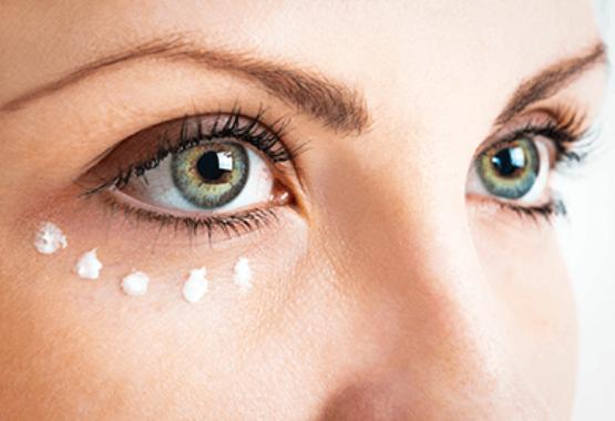 Hyaluron Augenfalten