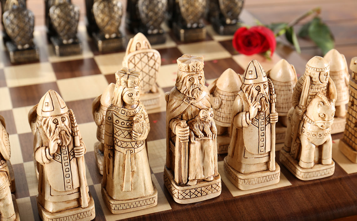 House of Hauteville - Chess Set for Valentines