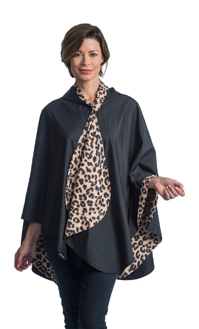 RainCaper Black & Leopard