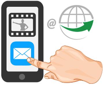 Schicke uns dein Video Review via Email oder per Messenger