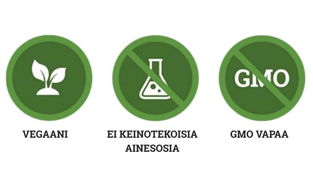 Ambronite Vegaani, Lisäaineeton, GMO-vapaa, terveellinen välipala-smoothie, nopeasti valmistuva ihana superfood sekoitus